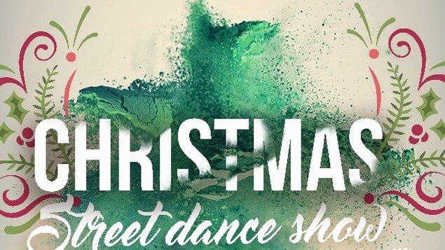 Christmas street dance show