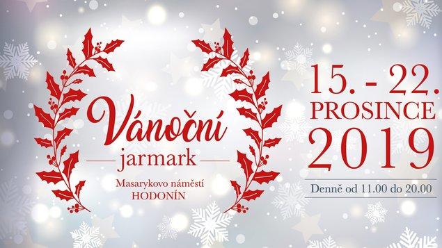 Vánoční jarmark Hodonín od 15. - 22. 12. 2019