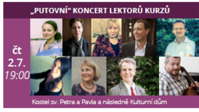 """""""Putovní"""" koncert lektorů setkání s hudbou"""