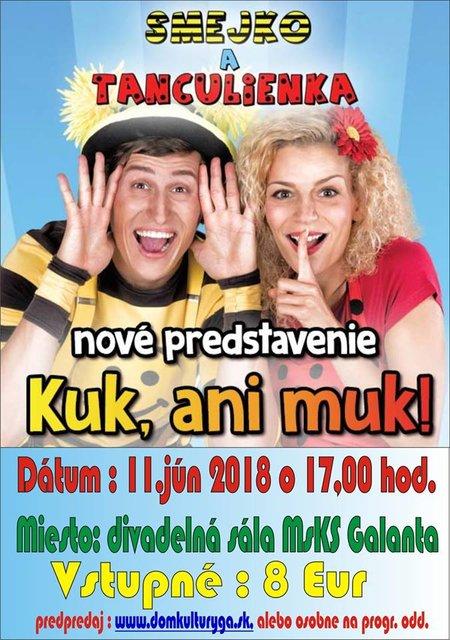 7b2bb03a044 Smejko a Tanculienka - Kuk