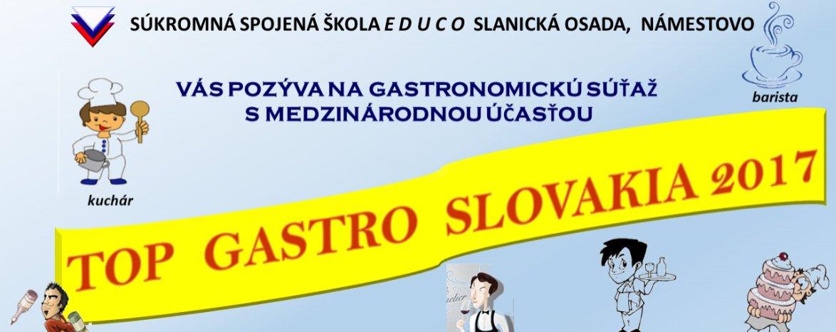 TOP GASTRO SLOVAKIA 2017