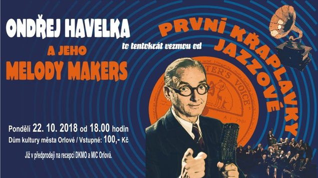 Koncert Ondřeje Havelky a jeho Melody Makers