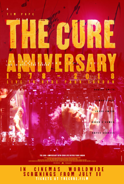 37f4b1a86 The Cure – Anniversary 1978-2018 Live in Hyde Park London