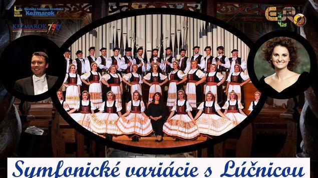 Symfonické variácie s Lúčnicou