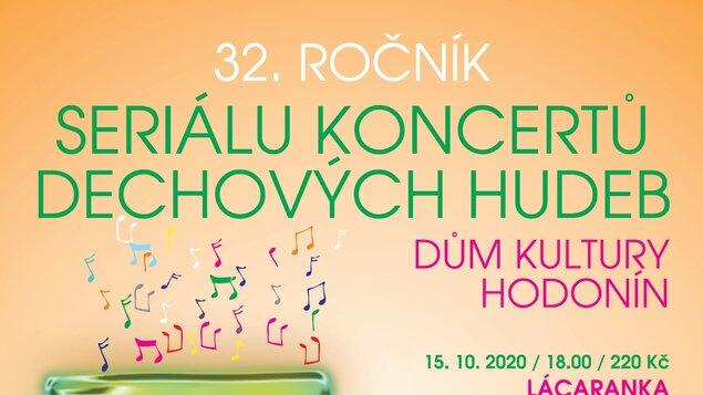 32. ročník Seriálu koncertů dechových hudeb - předplatné