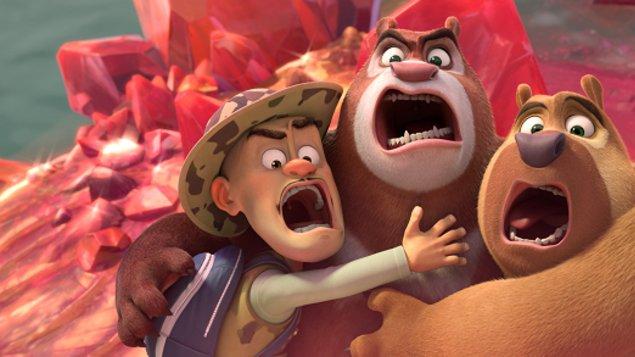 Dětské - Medvídci Boonie: Cesta do pravěku