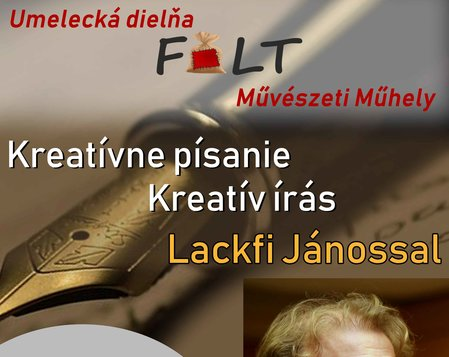 Umelecká dielňa FOLT Művészeti Műhely: Kreatívne písanie