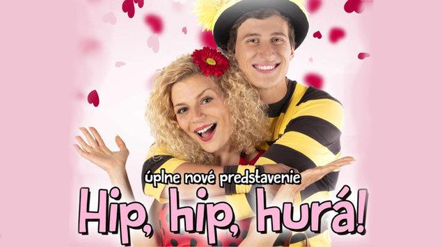 Smejko a Tanculienka: Hip, hip, hurá!