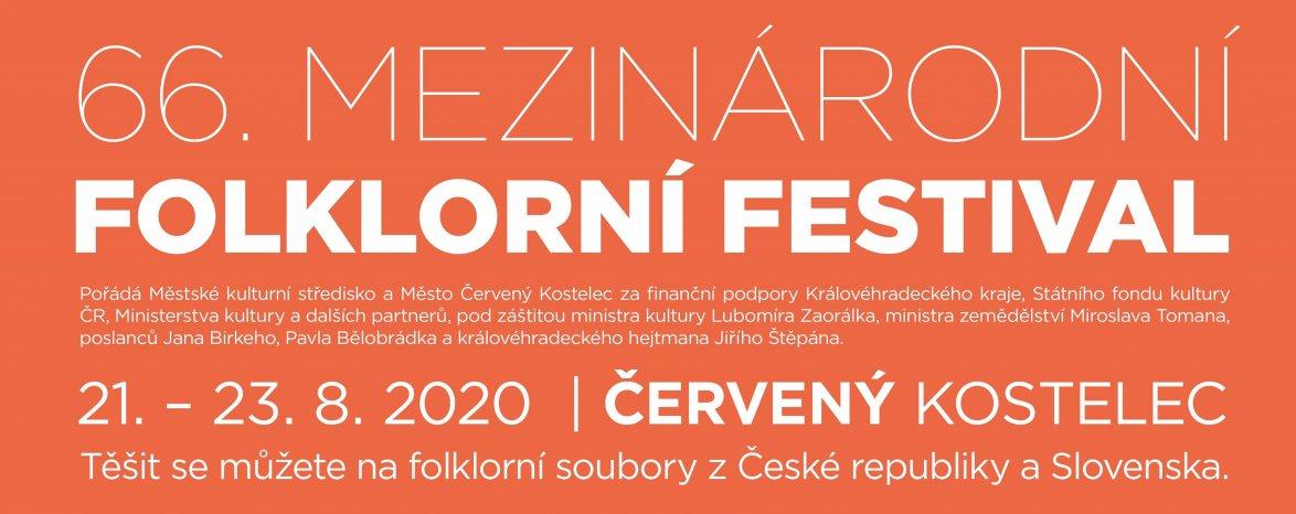 66. mezinárodní folklorní festival Červený Kostelec