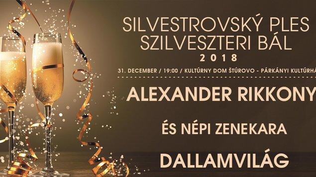 Silvestrovský ples, 31.12.2018