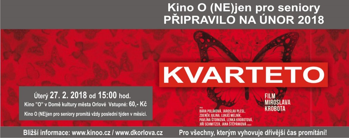 Kvarteto - Kino O (NE)JEN pro Seniory