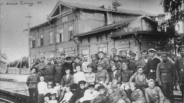 Připomínka 100 let od vzniku Československa v Týně nad Vltavou