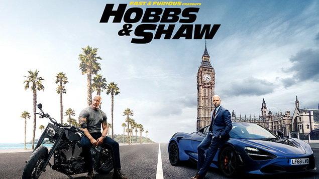 Rýchlo a zbesilo: Hobbs a Shaw
