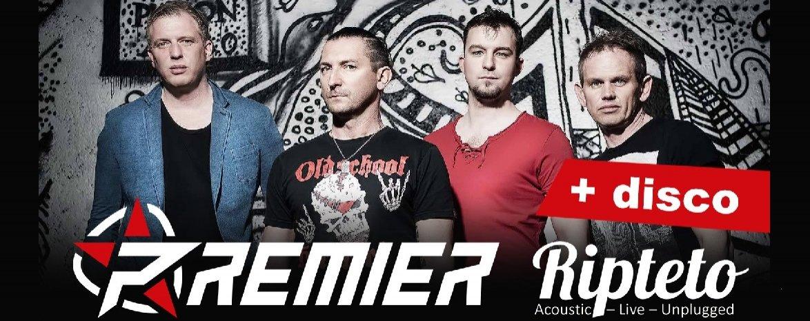 Srpnová noc - PREMIER + RIPTETO + disco