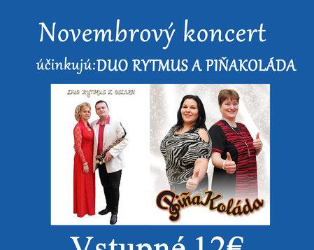 Novembrový koncert 2019