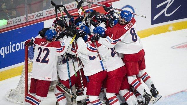 Mistrovství světa v ledním hokeji 2019: Rakousko – ČR