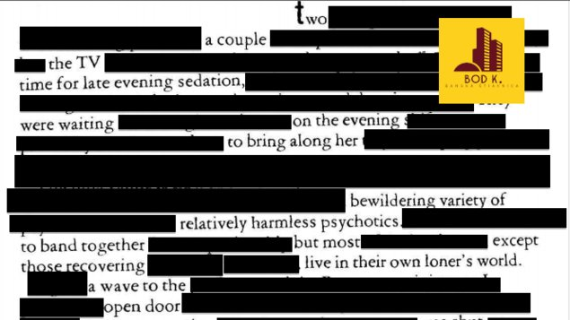 Výtvarný workshop: Blackout poetry