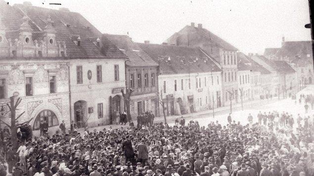 VÝSTAVA K PŘIPOMÍNCE KONCE PRVNÍ SVĚTOVÉ VÁLKY A VZNIKU ČESKOSLOVENSKÉ REPUBLIKY