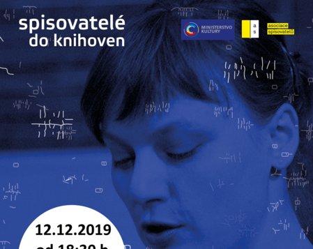 Spisovatelé do knihoven 2019/2020 - Kateřina Rudčenková