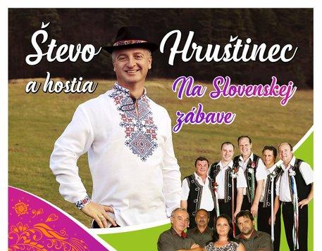 Števo Hrušinec a hostia - Na Slovenskej zábave