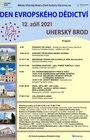 Den evropského dědictví v Uherském Brodě 2021