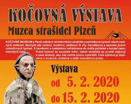 Kočovná výstava Muzea strašidel Plzeň