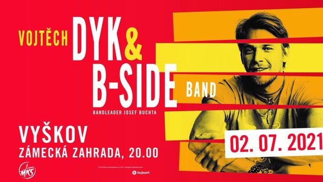 Vojtěch Dyk & B-Side Band, bandleader Josef Buchta