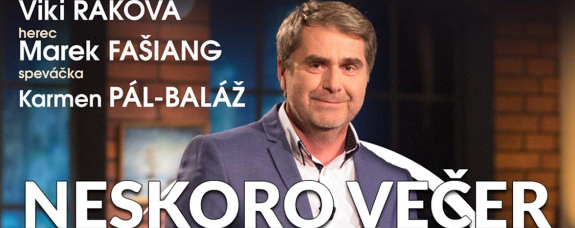 NESKORO VEČER - talkshow Petra Marcina