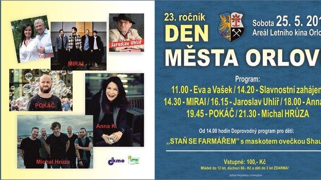 Den města Orlové 2019