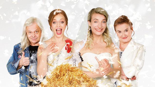 Dvě nevěsty a jedna svatba (Letní kino)