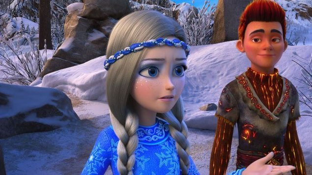 Snehová kráľovná: Tajomstvo ohňa a ľadu