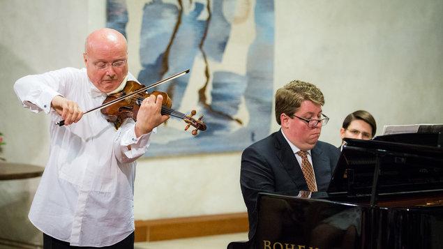 Úvodní koncert k houslovým kurzům 2018