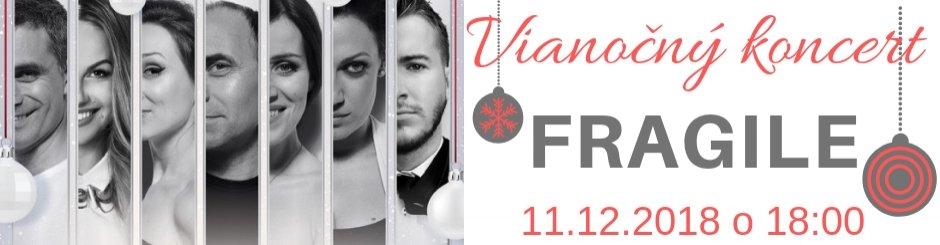 Vianočný koncert: Fragile