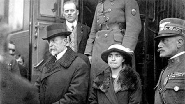 Návrat T. G. Masaryka z exilu