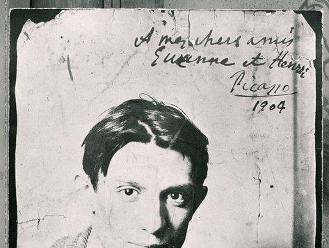 Mladý Picasso
