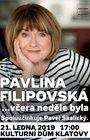 Pavlína Filipovská - Včera neděle byla