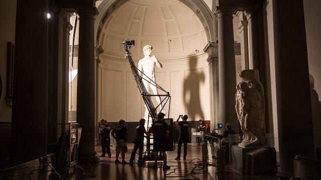 Florencia a galéria Uffizi