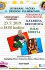 KL 2019 - Literárne večery s Denisou Fulmekovou: Katarína Brychtová a Juraj Šebesta