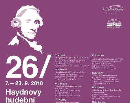 26. Haydnovy slavnosti