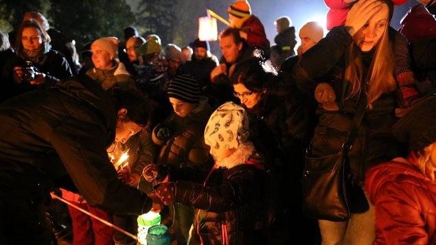 Svätomartinský lampášikový sprievod 2019
