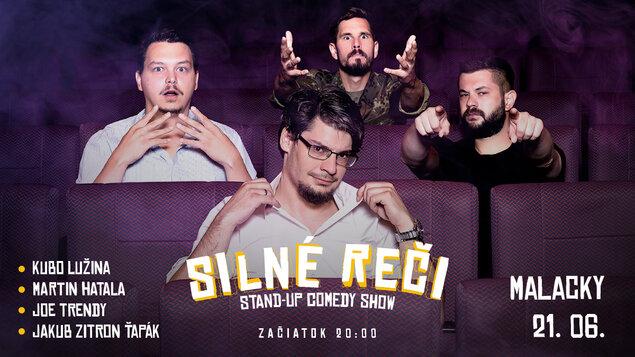 SILNÉ REČI - stand-up comedy show