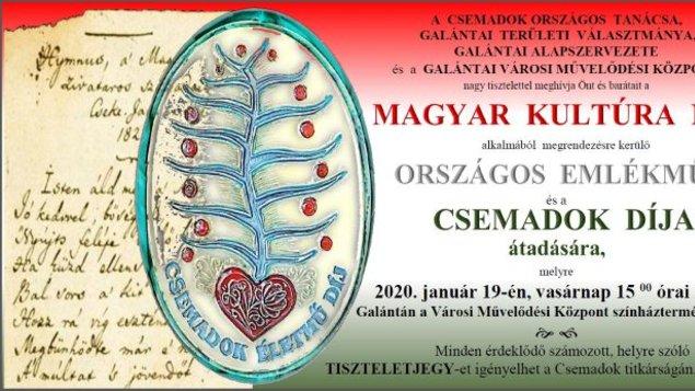 Deň maďarskej kultúry 2020