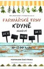 FARMÁŘSKÉ A ŘEMESLNÉ TRHY (změna začátku trhů, budou od 10:00 do 17:00)