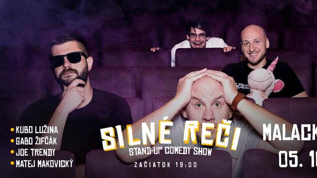 Silné reči - stand-up comedy show - 30. 11. 2020 - ZRUŠENÉ