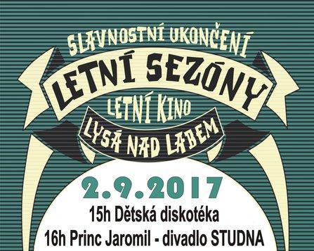 Slavnostní ukončení letní sezony v Letním Kině Lysá nad Labem 2017