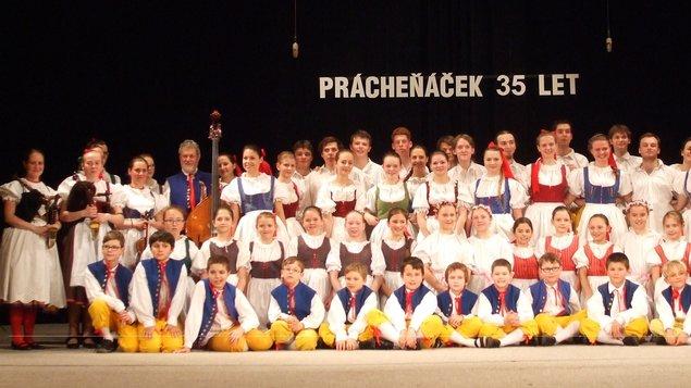 Vánoční koncert dětského folklorního souboru Prácheňáček
