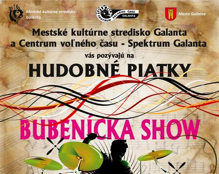 Hudobný piatok -Bubenícka show