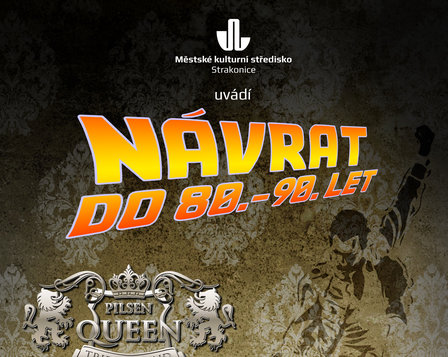 Koncert Pilsen Queen Tribute Band a DJ František Mareš
