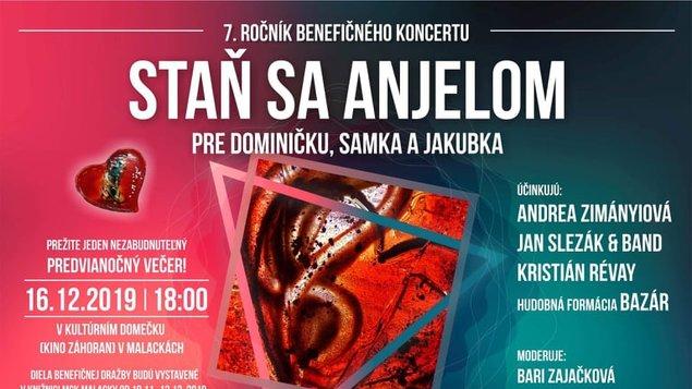 STAŇ SA ANJELOM  - benefičný koncert