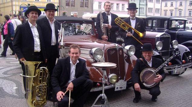Old Steamboat Jazz Band - koncert v galerii